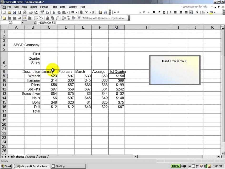 sample excel data for analysis 2