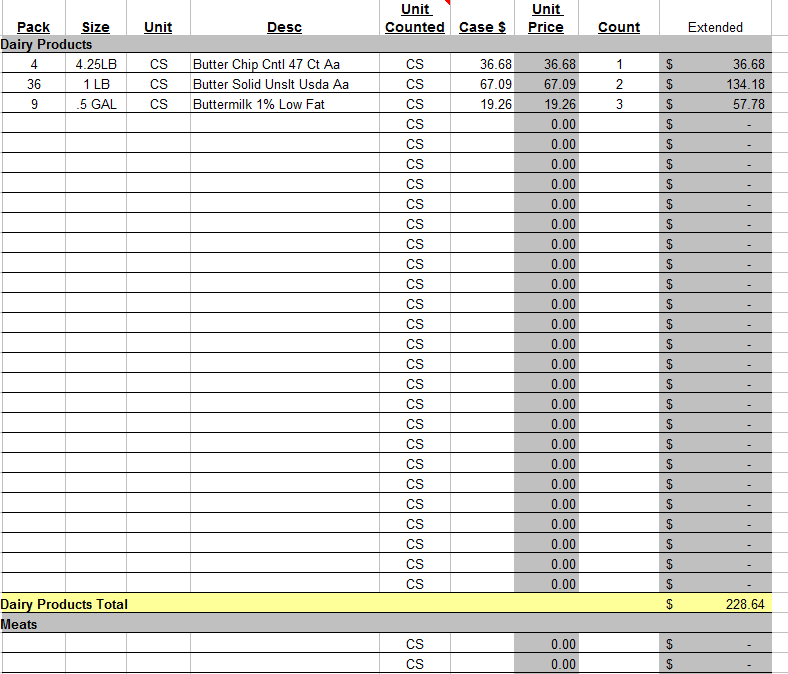 stock maintain in excel sheet free download