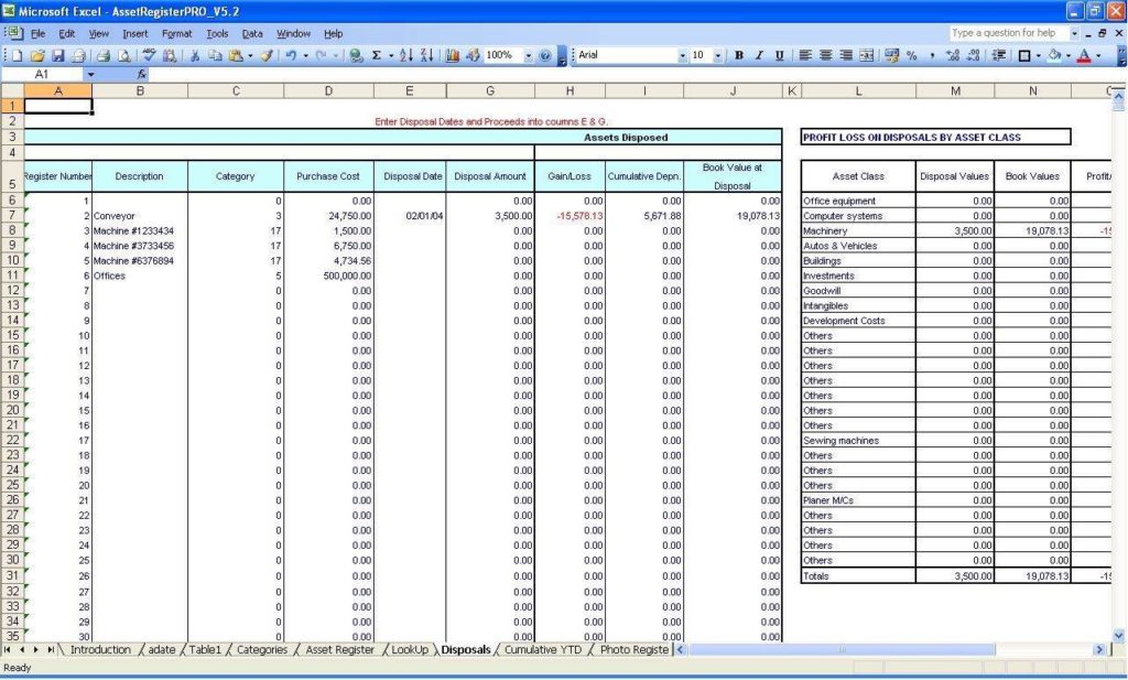 Accounting Spreadsheet for Small Business Australia