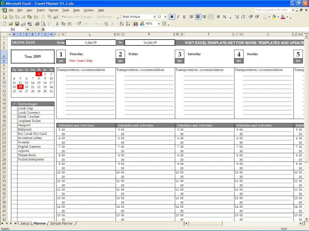 Employee Time Management Excel Spreadsheet