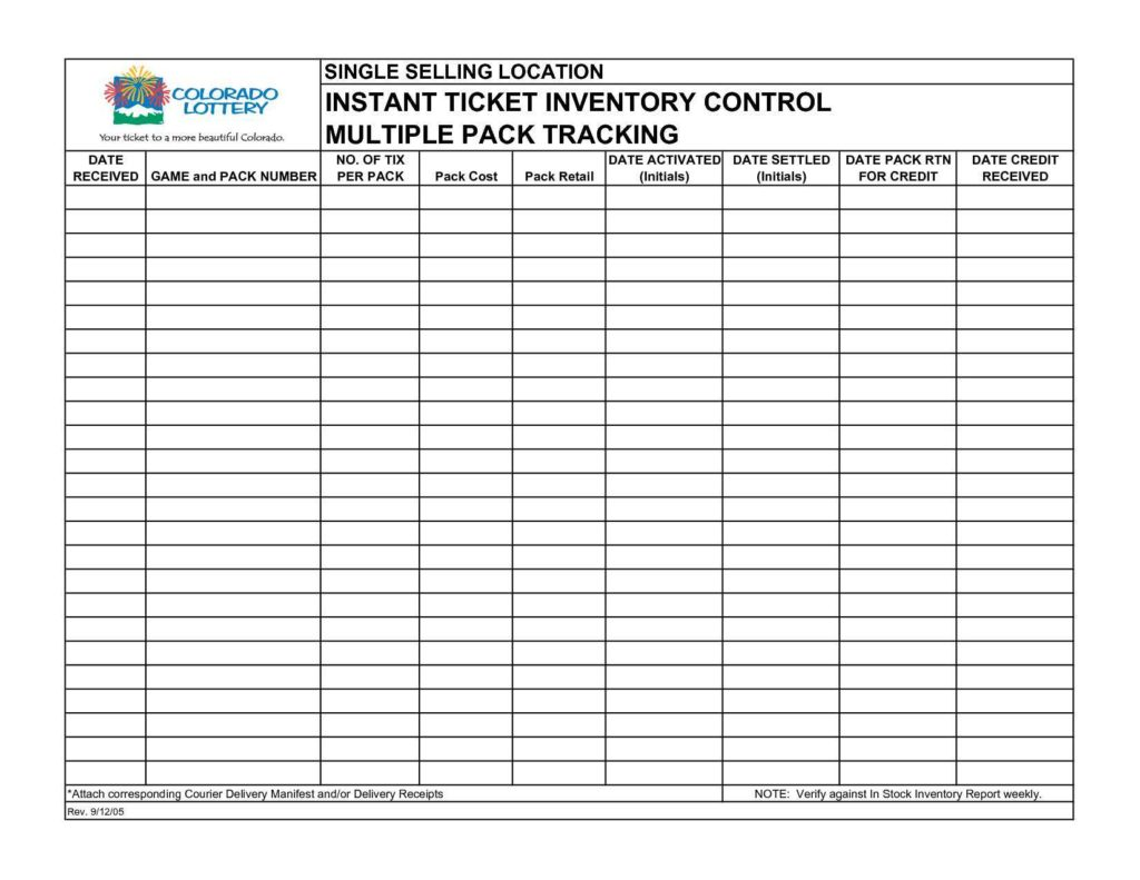 Inventory Management Excel Sheet Free Download