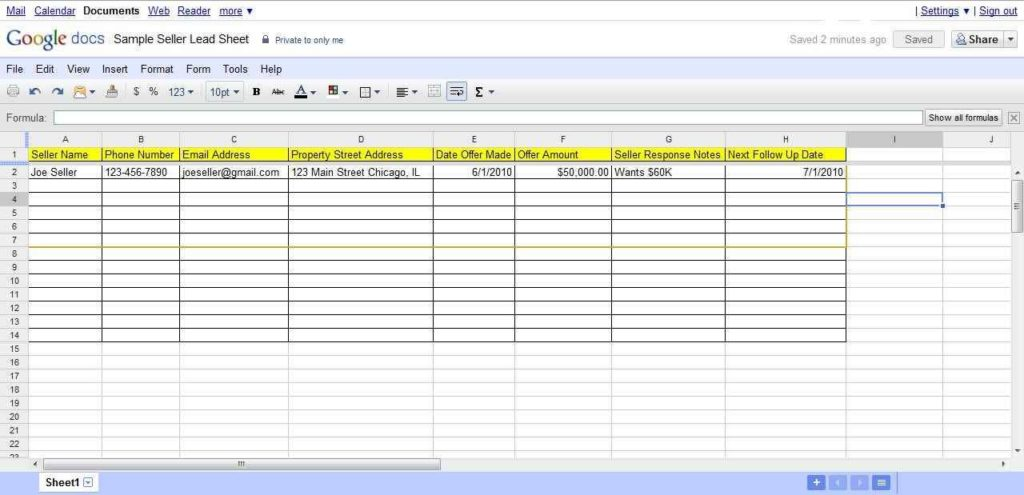 Using Google Docs for Project Management