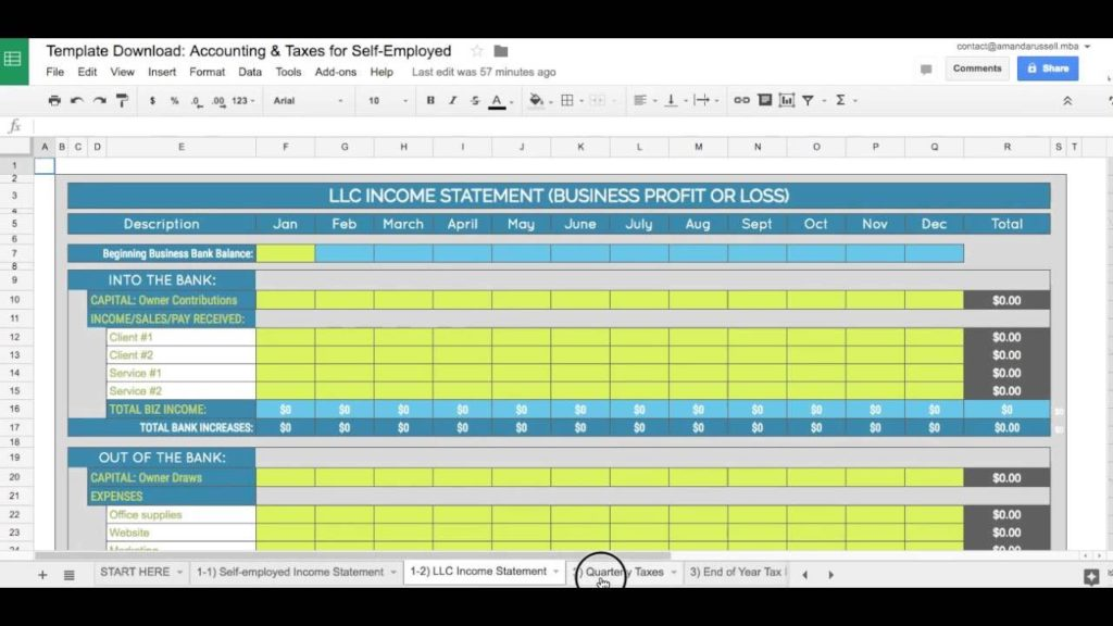 Excel Spreadsheet for Small Business Bookkeeping and Free Spreadsheets for Bookkeeping a Small Business