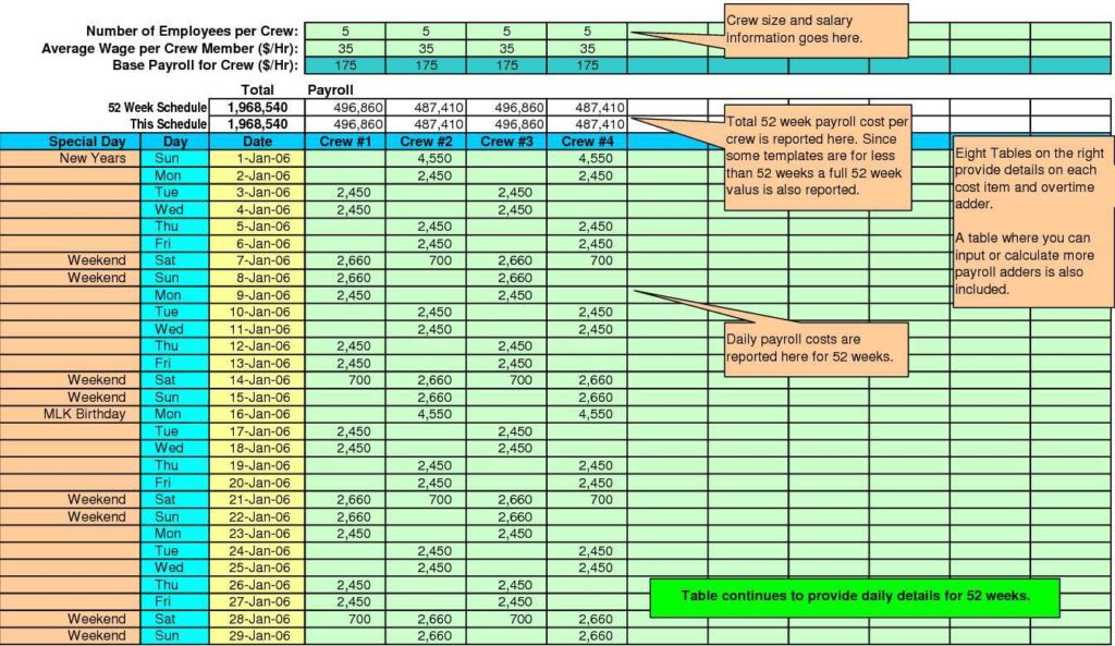 Excel Spreadsheet to Track Payroll and Excel Spreadsheet for Certified Payroll