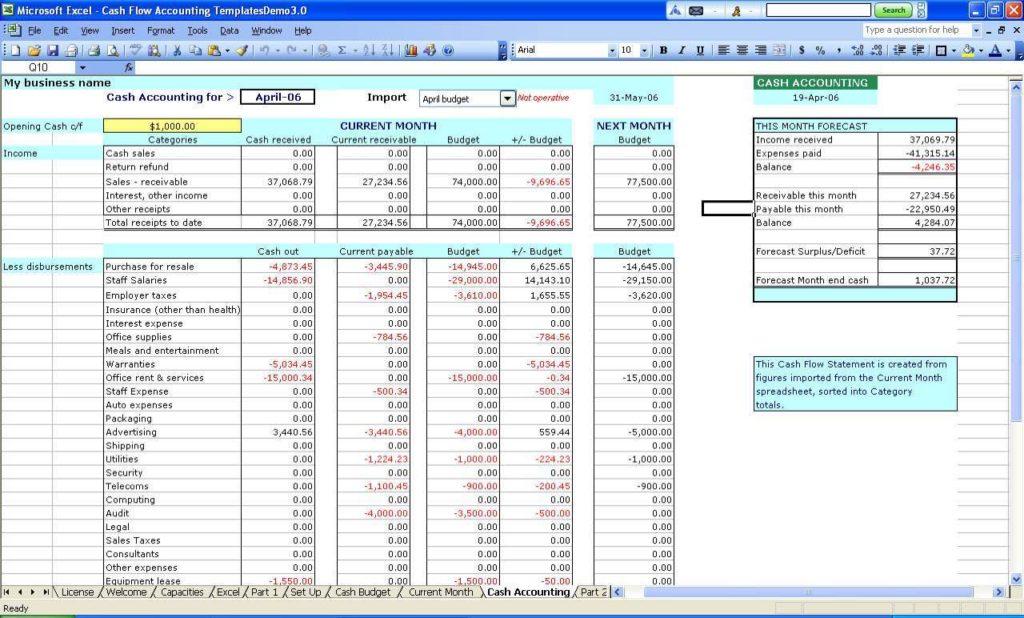 Farm Record Book Excel 1