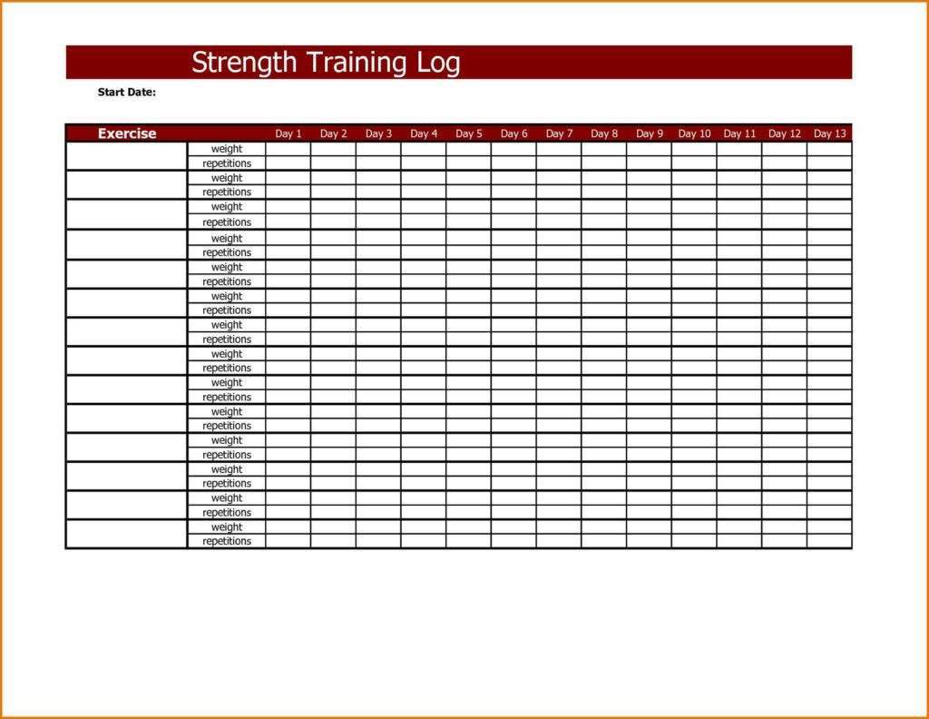 Staff Training Spreadsheet
