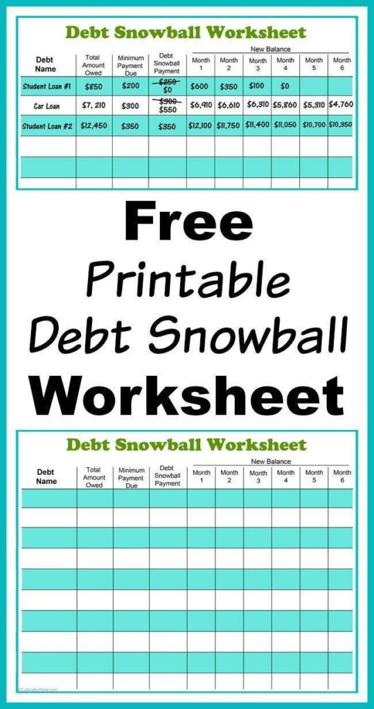 Debt Management Plan Budget Sheet and Debt Reduction Spreadsheet for Mac