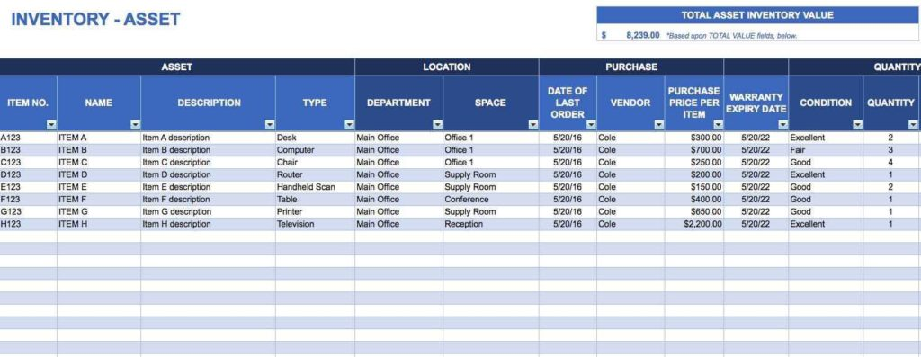 Inventory Tracking Spreadsheet Free and Restaurant Inventory Tracking Spreadsheet