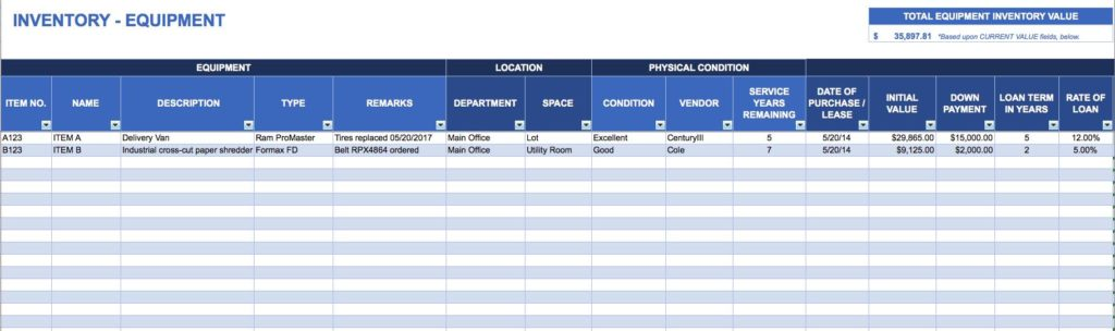 Liquor Inventory Spreadsheets and Inventory Website Templates