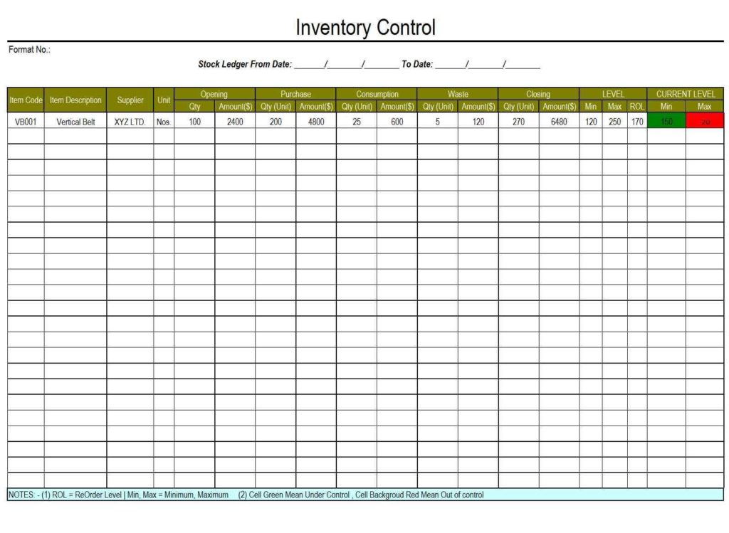 Mary Kay Inventory Tracking Spreadsheet and Simple Inventory Control Spreadsheet