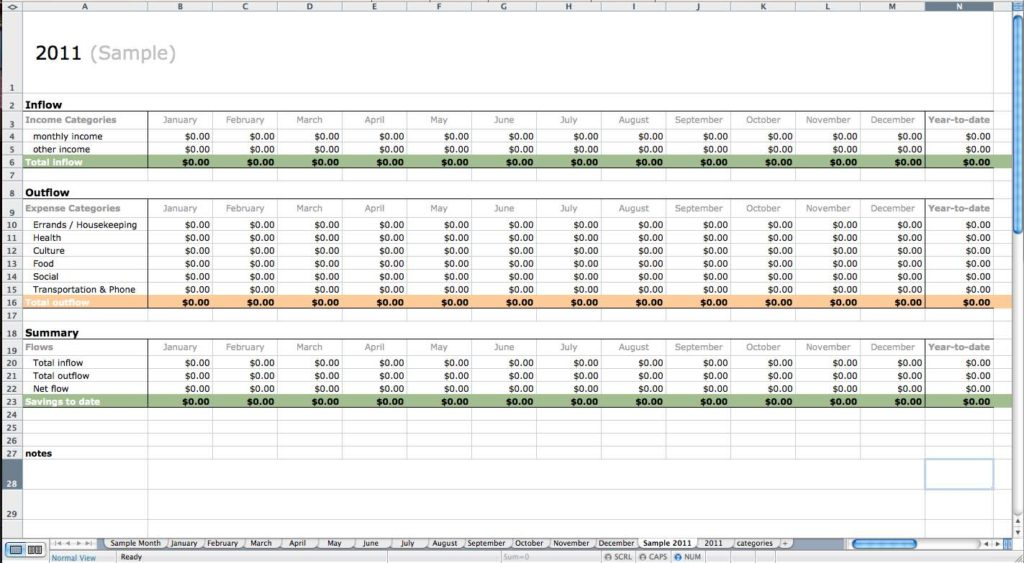 Free Bookkeeping Spreadsheet And Free Bookkeeping Spreadsheet For Small Business