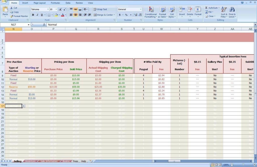 Free Easy Bookkeeping Spreadsheets And Free Bookkeeping Spreadsheet Excel