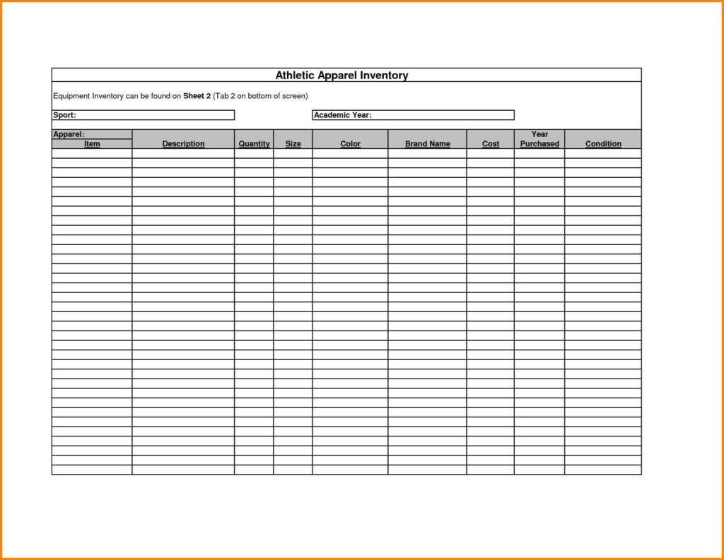Medical Supply Inventory Template And Office Supply Inventory List