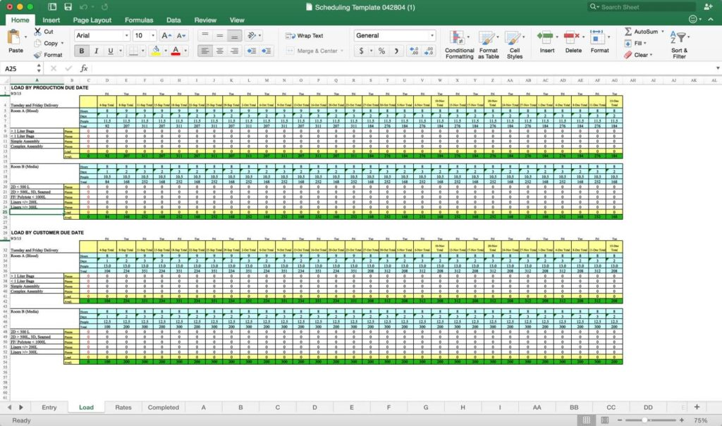 Resource Capacity Planning Template Excel Free and Resource Capacity Planning Tools Free