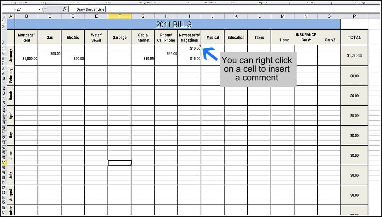 Spending Tracker Spreadsheet And Monthly Expense Tracker Excel Sheet Free Download
