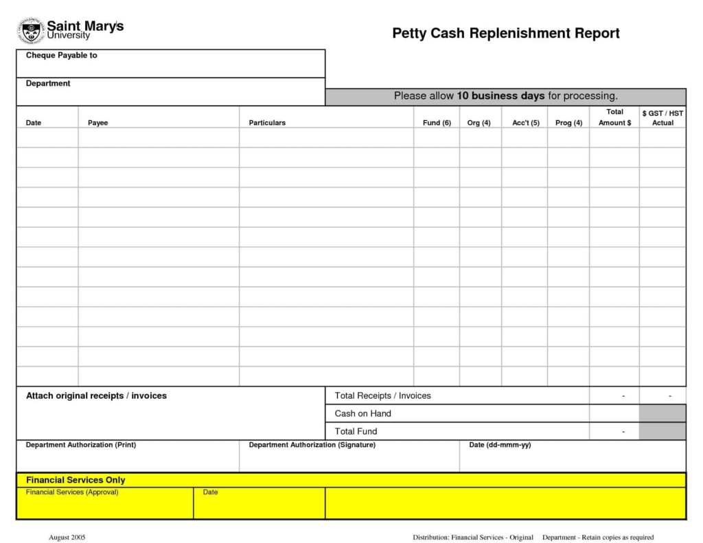 Monthly Expense Report Template And Small Business Expense Report Template
