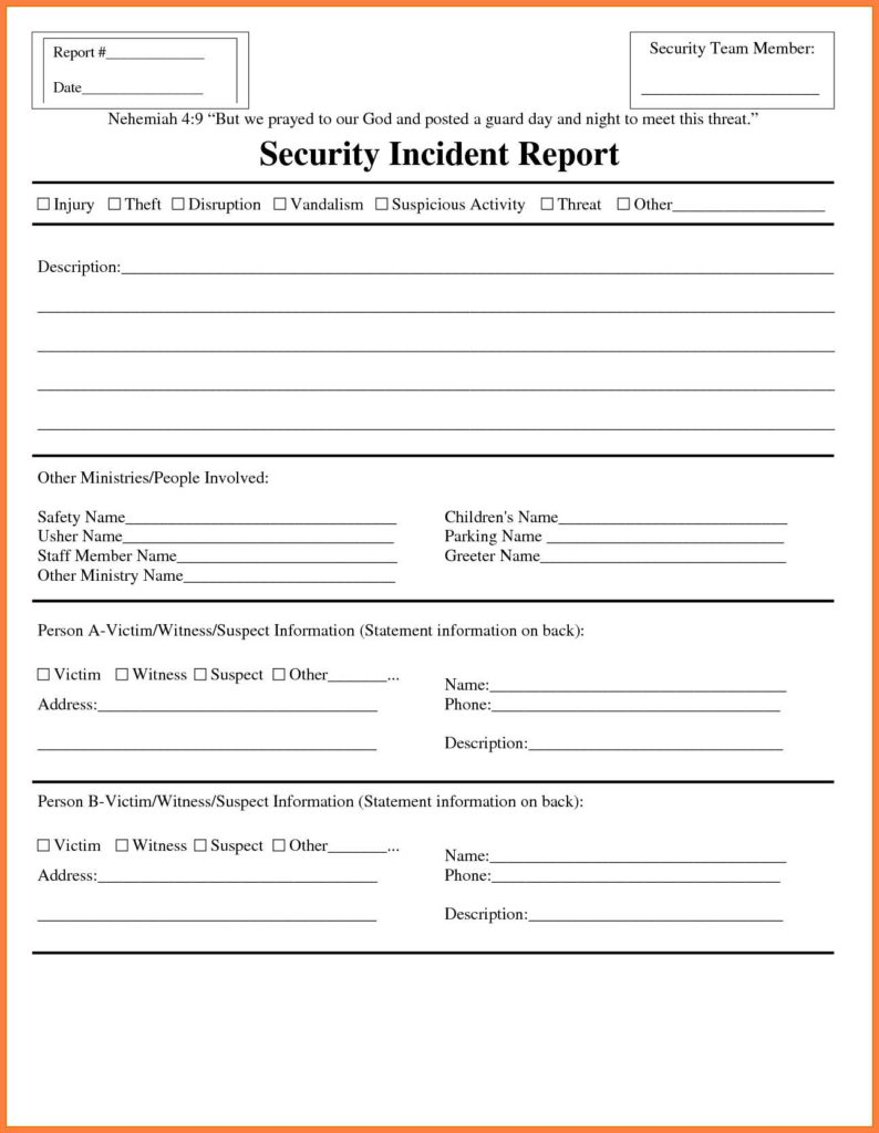 Network Security Audit Report Example And IT Audit Report Template