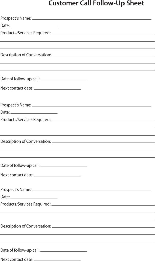 Sample Sales Call Reports And Sales Call Report Template Microsoft Word