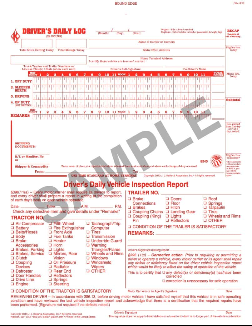 How To Fill Out A Driver Vehicle Inspection Report And Dvir Sample