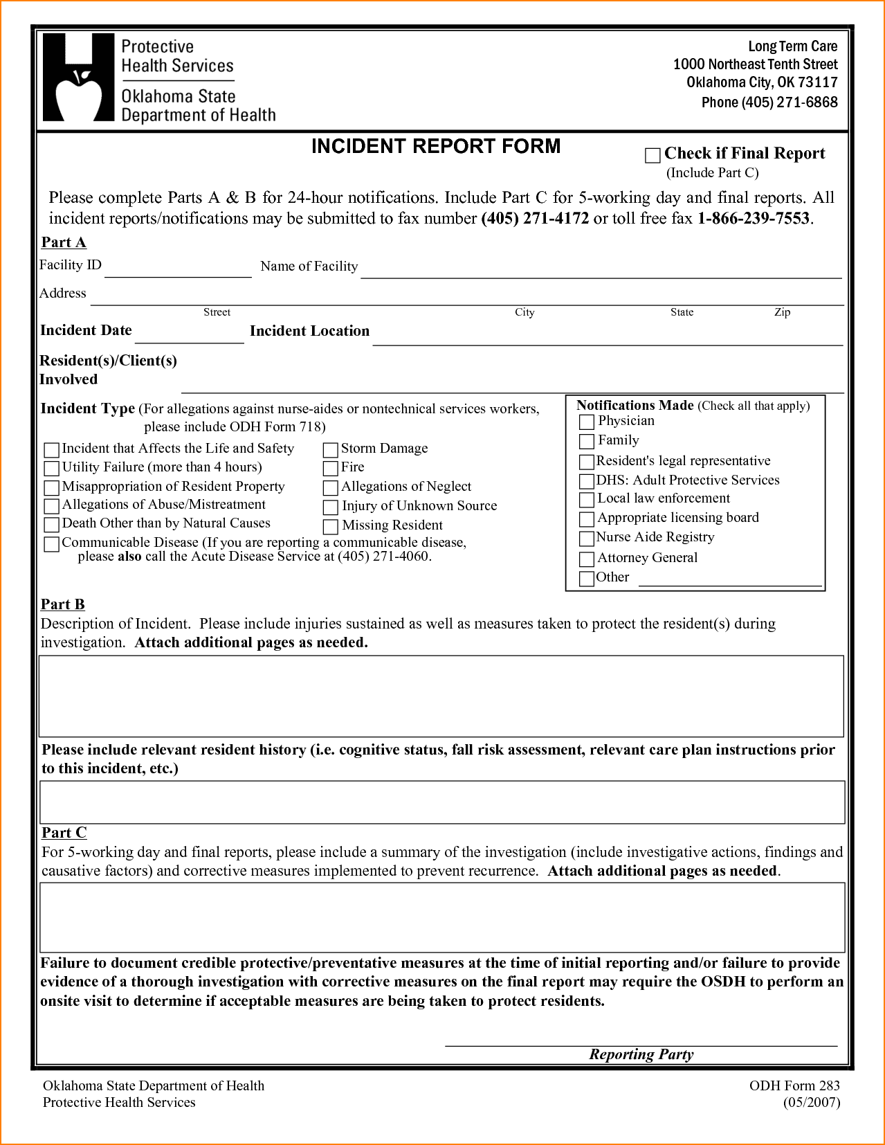 Employee Incident Report Template And Physical Security Incident Report Sample