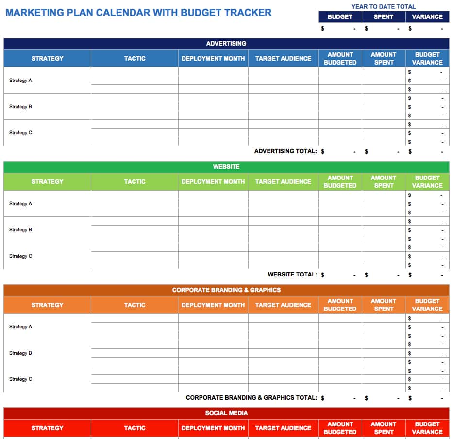Social Media Report Excel Template And Social Media Monthly Report Example