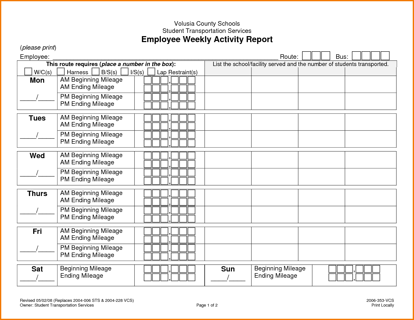 Expense Report Template Free And Monthly Expense Report Template
