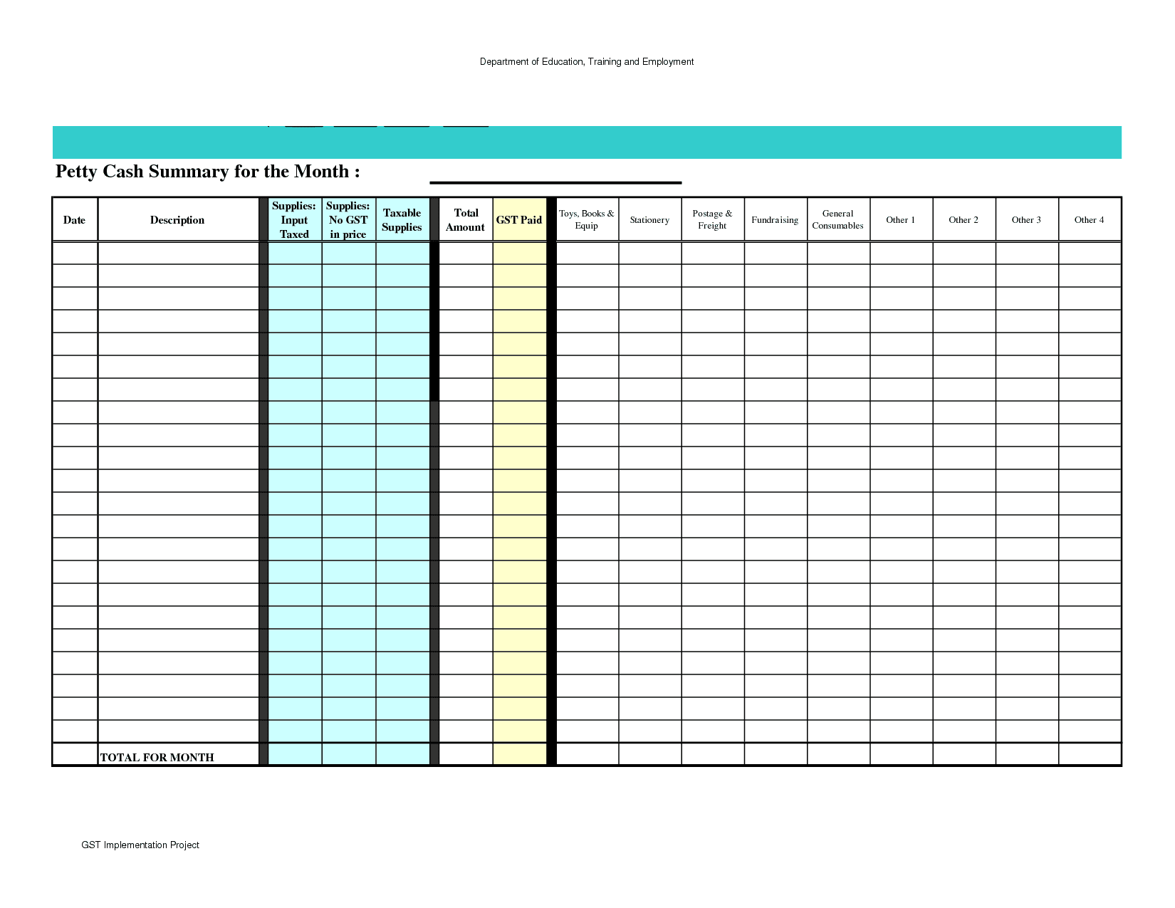 Simple Expense Report Form And Simple Income And Expenditure Template