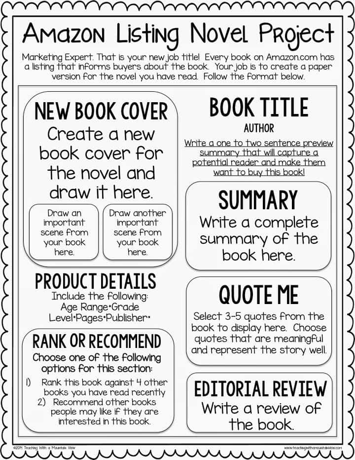 Example Of A Book Report In English Short Story And Example Of Short Story With Book Report