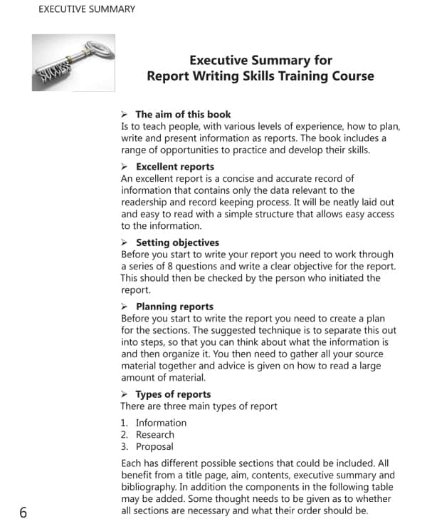 Examples For Report Writing Format And Example Of A Formal Report