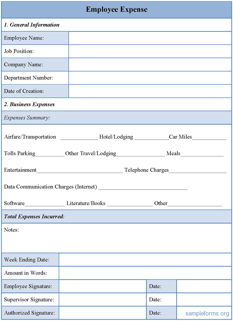 Expense Claim Form Template Microsoft Office And Employee Expense Reimbursement Policy