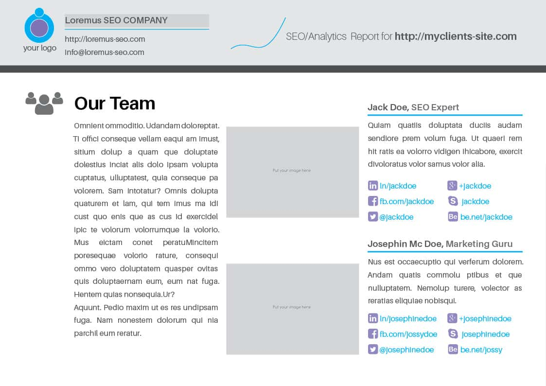 SEM Template And SEM Annual Report