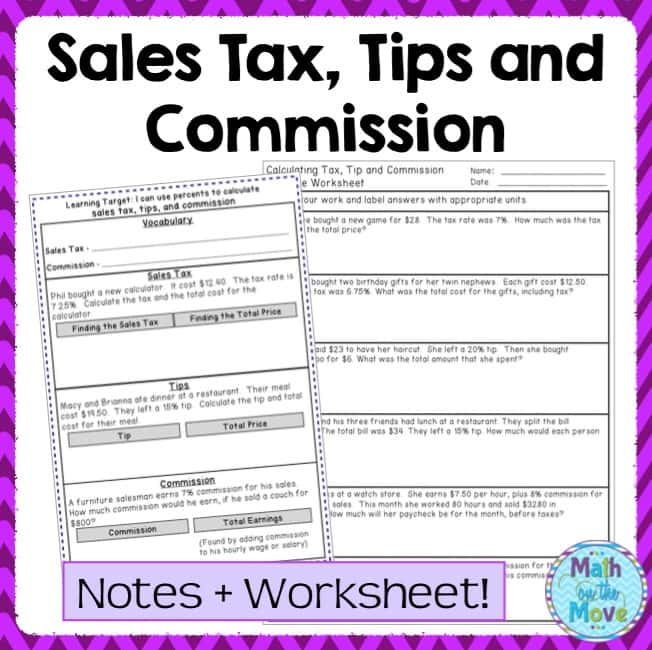 Commission Sales Tax And Profit Worksheet And Commission Log Excel Template