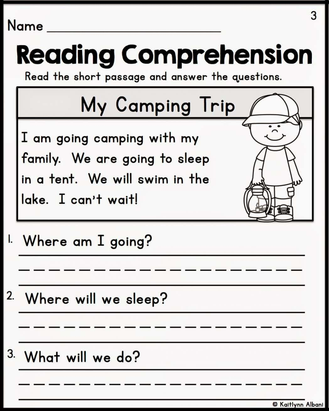 Comprehension Passages For Grade 1 Free Worksheets And Short Stories For First Graders