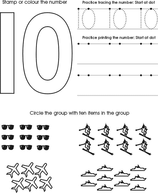 Free Printable Worksheets For Age 2 And Worksheets For 2 Year Olds