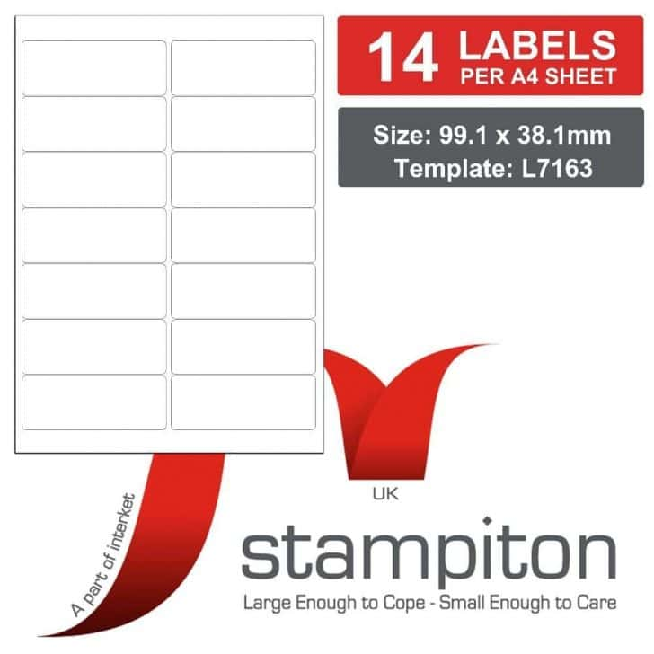Free Template For Address Labels 18 Per Sheet And Avery L7163 Label Template For Word