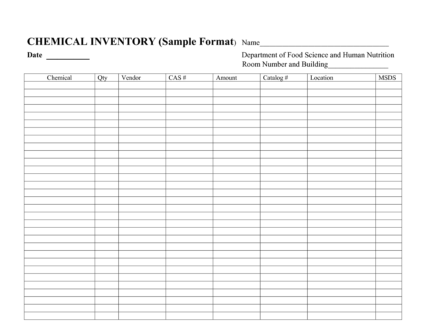 Inventory Spreadsheet Example And Sample Inventory Sheet Pdf