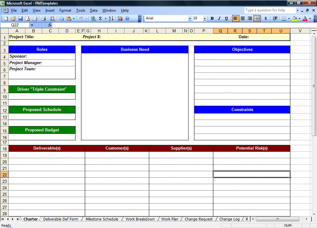 Project Planning Excel Template Free Download And Microsoft Project Planner Excel Template