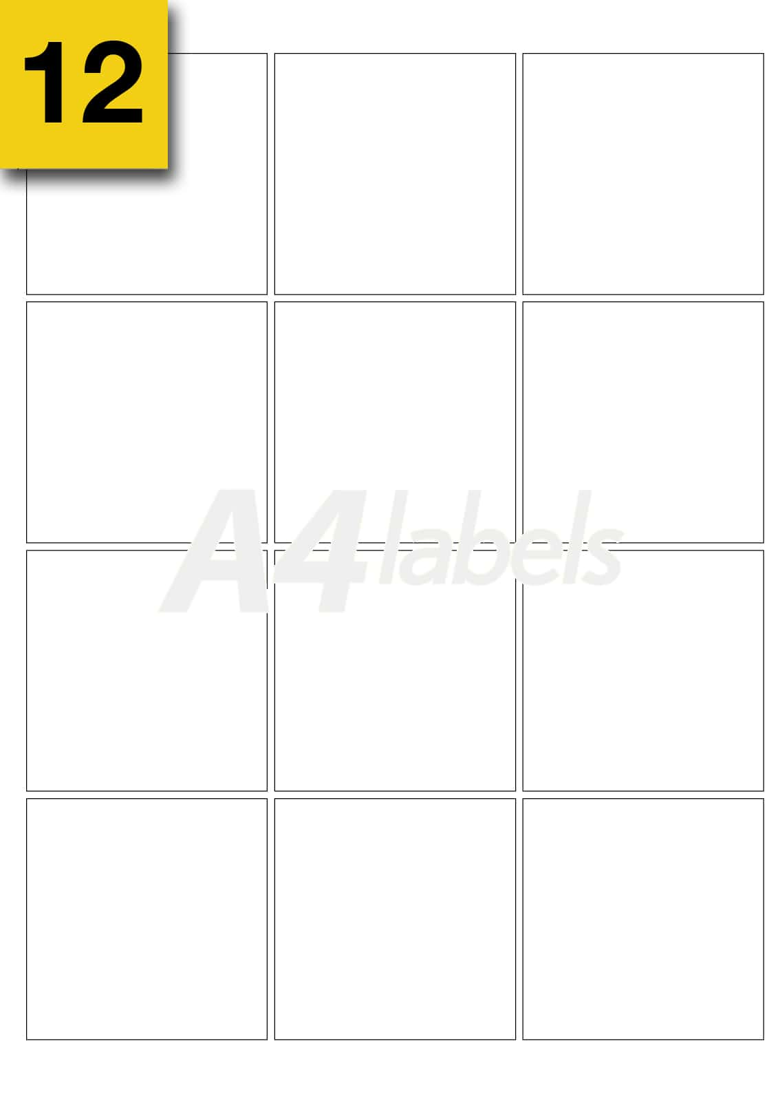 2 X 4 Label Template 10 Per Sheet And Round Label Template 4 Per Sheet