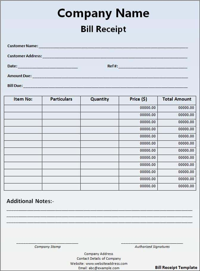 Bill Pay Budget Template And Pay My Bills Template