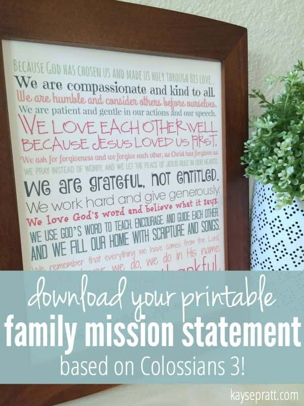 Examples Of A Christian Mission Statement And Sample Christian Education Mission Statements