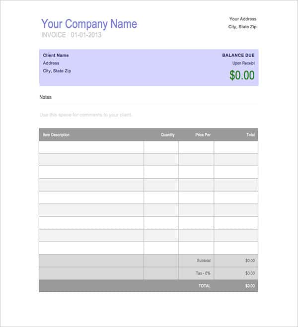 Invoice Tracker Spreadsheet And Small Business Bookkeeping Excel