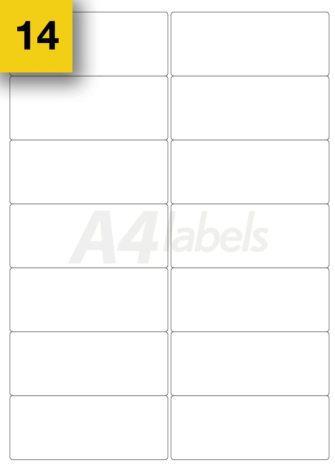 Label Template 4 Per Sheet Landscape And Avery Shipping Label 4 Per Sheet Template