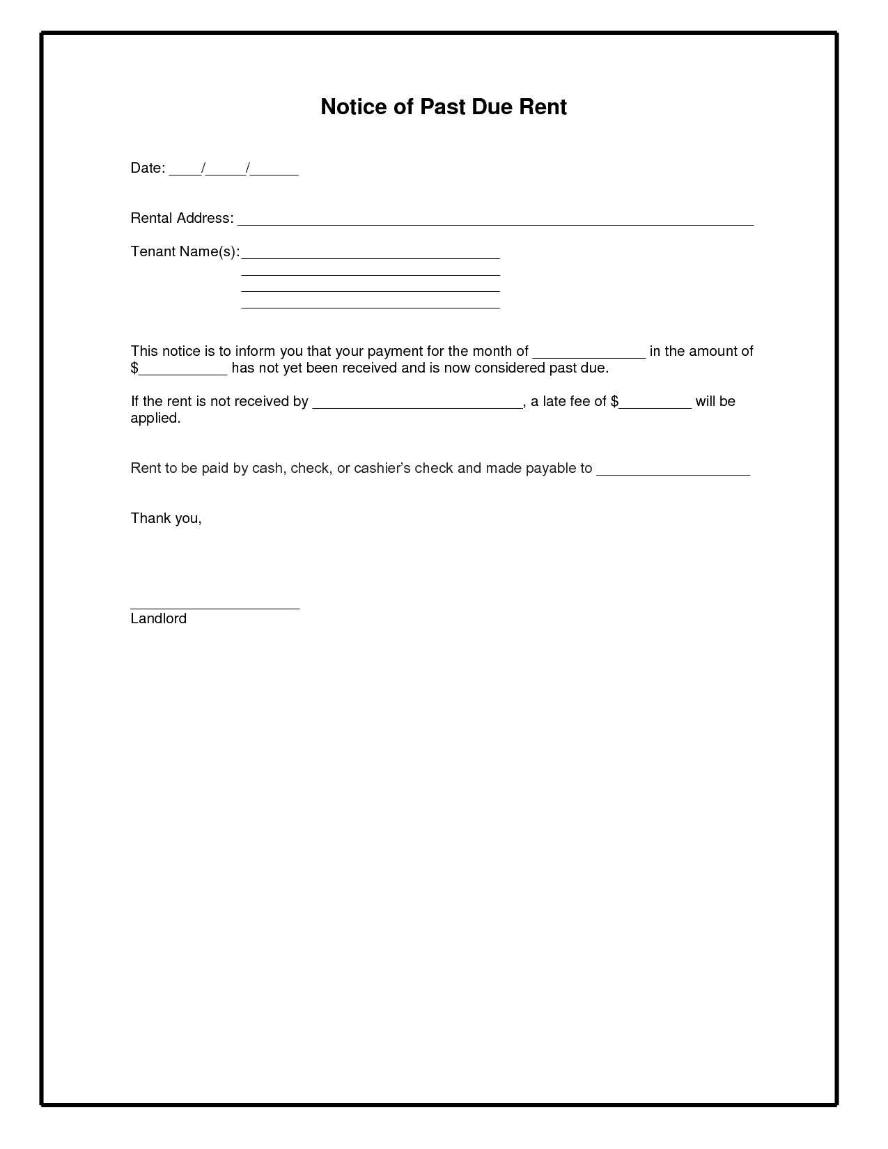 Past Due Bill Letter Template And Past Due Invoice Sample Letter