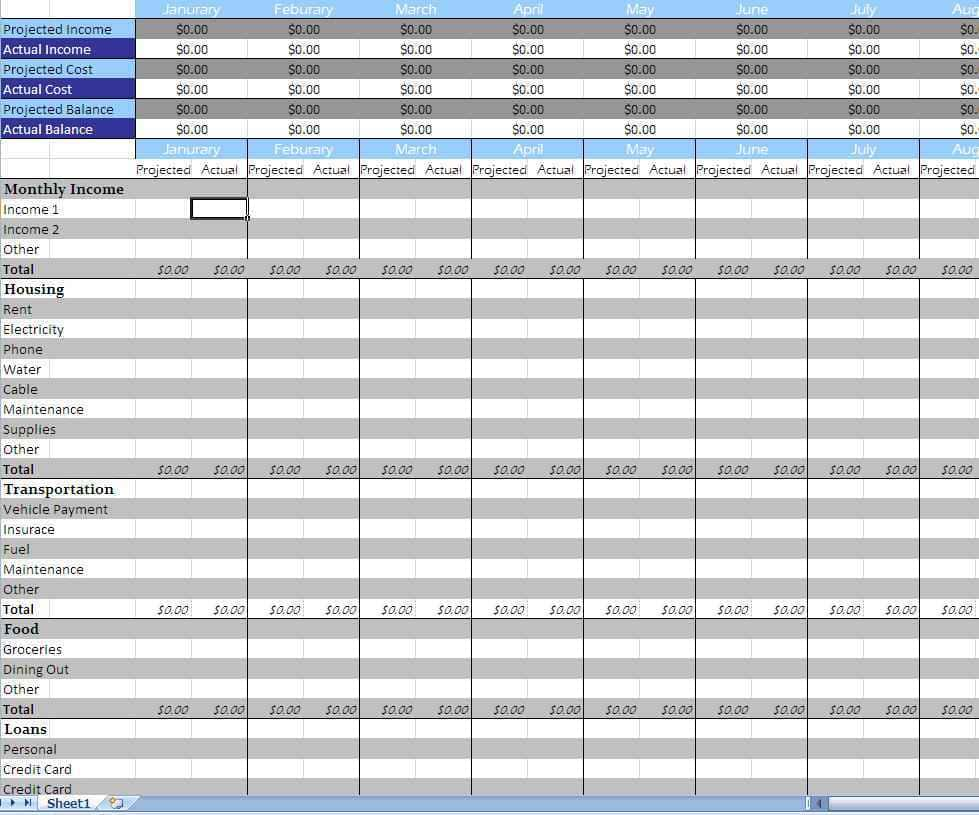 Excel Bookkeeping For Small Business And Small Business Record Keeping Spreadsheet