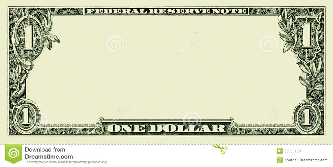Million Dollar Bill Sample And Custom Million Dollar Bill Template