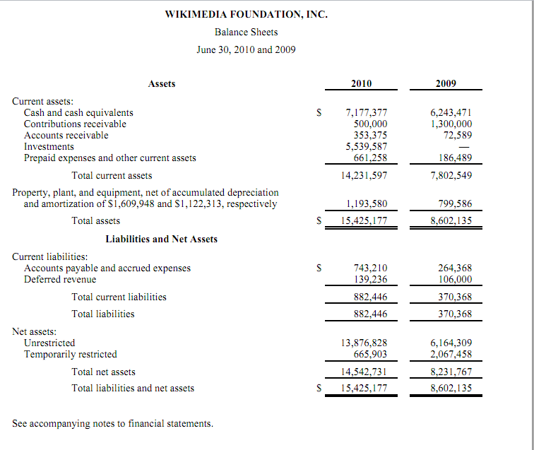 Non Profit Monthly Financial Report Template And Non Profit Statement Of Financial Position Template
