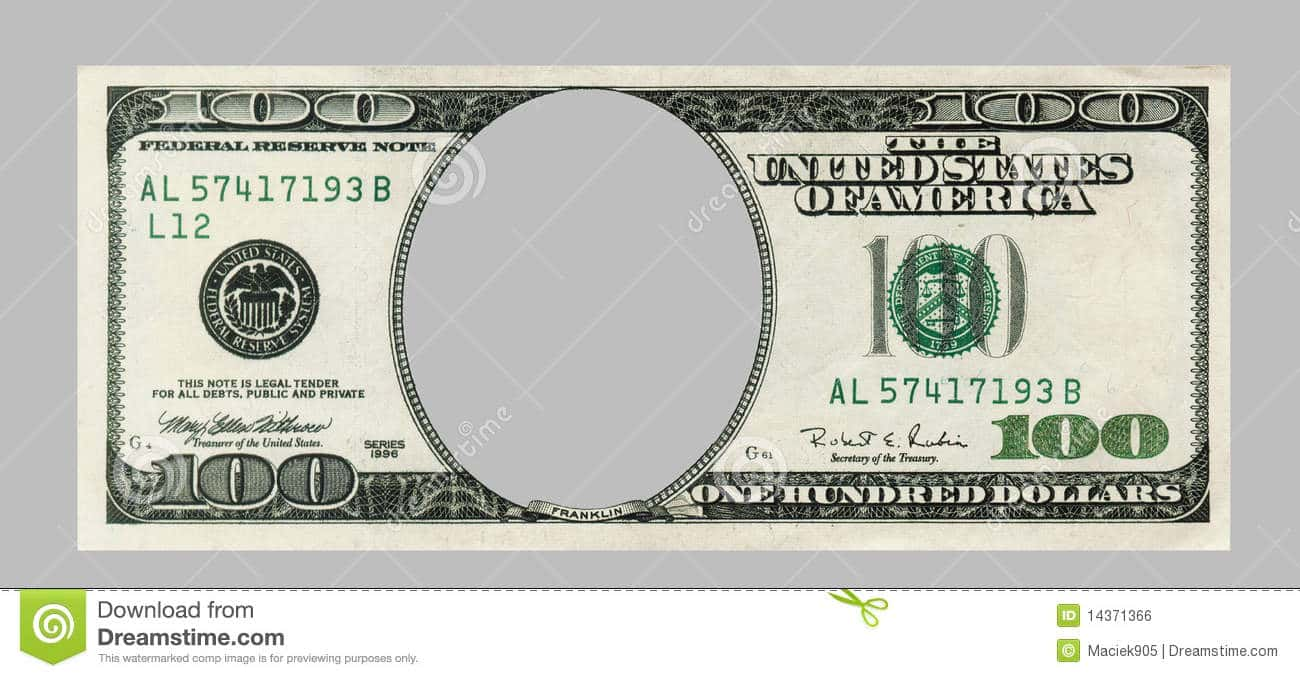 One Million Dollar Bill Template And Fake Million Dollar Bill Printable
