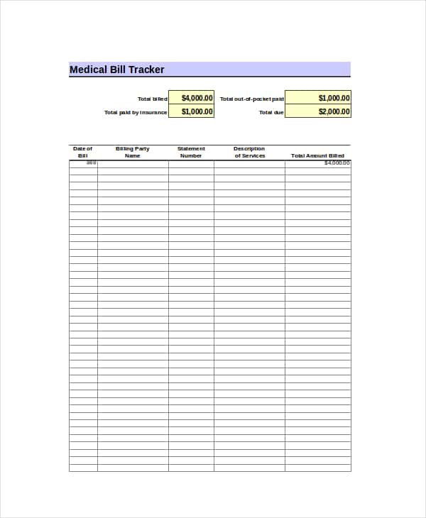 Excel Template For Monthly Expenses And Excel Template For Budget Tracking