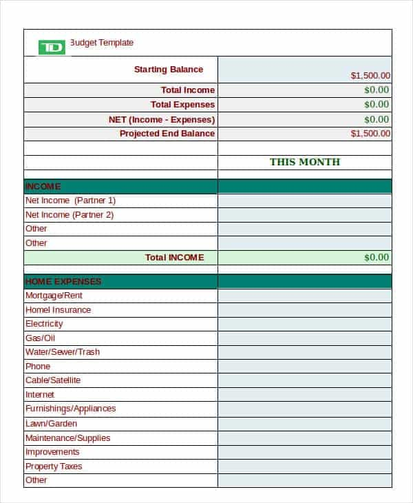 Financial Peace University Budget Worksheet And Home Financial Budget Worksheet