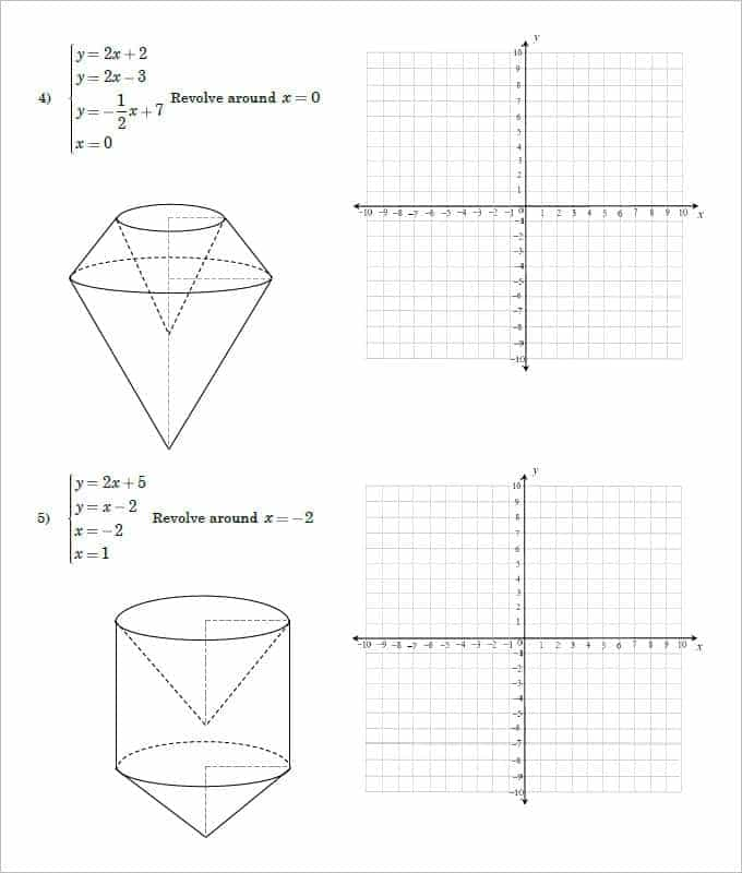 Free Geometry Worksheets For High School With Answers And High School Geometry Practice Worksheets